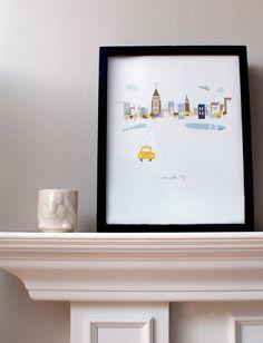 我們看到了。我們是生活@家。: 『台北哪裡醜!?』邀稿計劃 [給靈感] - 住在美國Portland的插畫家Kim