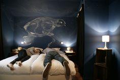 Also a pretty fantastic hotel room.