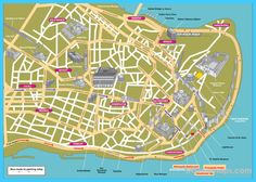 awesome Map of Istanbul