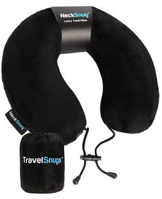 NeckSnug Luxury Travel Pillow 100 Memory Foam Neck Pillow for Travel >>> You can find out more details at the link of the image. (This is an affiliate link)