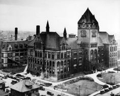 detroit in the | The Old Main Building 1930 | Detroit History. Wayne State University's ...