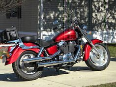love red vehicles, whether two-wheeled or four-wheeled