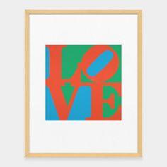 Love Robert Indiana LOVE x