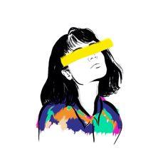 """Color Beauty"" by Explicit Design - Kunst Illustrator Design, Art Sketches, Art Drawings, Arte Dope, Arte Indie, Illustration Art, Illustrations, Poster Drawing, Art Graphique"