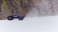 E-Revo Brushless Edition doesn't miss a day of fun, blasting through the snow in this remote Canadian forest. To learn more about the E-Revo Brushless Editio. Canadian Forest, E Revo, Rc Hobbies, Rc Cars, Arctic, Adventure, 4x4, Youtube, Watch