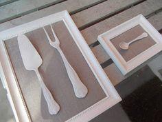 Framed cutlery DIY!