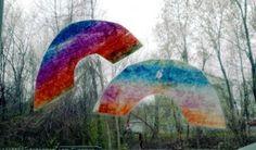 Glittering Muffins | Rainbow Suncatchers