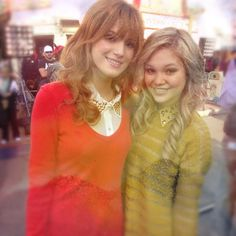 .@bellathorne and @olivia_holt