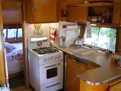 1949 Westcraft 3 window Restored Vintage Travel Trailer Aluminum Birch Interior in RVs & Campers | eBay Motors