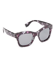 c3354baeeb6 Look at this Joe s Jeans Purple Tortoise Polarized Base 6 Thick Square  Sunglasses on  zulily