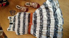A combinação do dia é vestido de listras com saia plissada da Cori com lindas sandálias cor de terra do Fernando Pires e arrematando o look o cinto de couro caramelo. Temos sempre dicas de combinações no nosso instagram e facebook! http://ift.tt/29Ss7Qh #moda #campinas #grife #modabrasileira