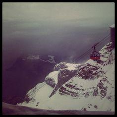 Darth Bero now 35 years old  @ Mount Pilatus / The Dragon Mountain