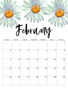 Home Interior Hallway February 2020 Free Printable Calendar - Floral. Watercolor flower design calendar pages for a office or home calendar for work or family organization. Cute Calendar, Monthly Calendar Template, Print Calendar, Printable Calendar Template, Calendar Pages, 2021 Calendar, Printable Planner, Blank Calendar, Monthly Planner