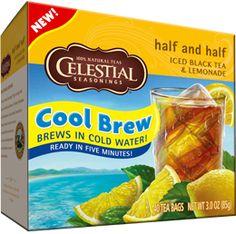 Half and Half Cool Brew Iced Tea