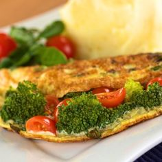 5 minute vegetarian meal idea: Veggie Omelette!  These healthy and delicious meals take no time to make, yet keep you full and satisfied with protein, fiber, healthy fats, good carbs, vitamins, and minerals