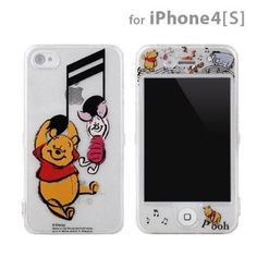 Disney Characters Full Custom Case for iPhone 4S/4 (Winnie The Pooh)