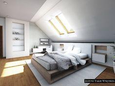 Sypialnia z łazienką - aranżacje