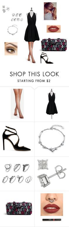 """""""Tango"""" by allana-iskra ❤ liked on Polyvore featuring Halston Heritage, Jimmy Choo and Vera Bradley"""
