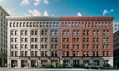 caleidoscópica - blog d design de interiores e decoração | Eu quero acordar na cidade que nunca dorme. Sterling Mansion - Tribeca -New York