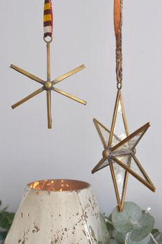 Brass star decoratio