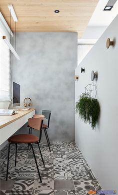 Home Office Olarak Kullanılan Küçük Daire Dekorasyonu   Moda Dekorasyon
