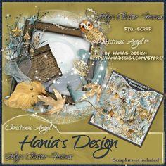 Christmas Angel-01 cluster 01 [HaniaDesign] - $0.50 : Hanias Design