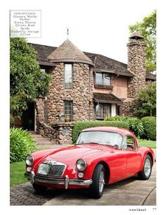 MGA Coupe. Boy, these are neat...
