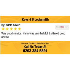 Very good service. Haim was very helpful & offered good advice