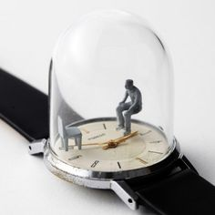Watch sculptures Moments in Time by Dominic Wilcox_10 451x451