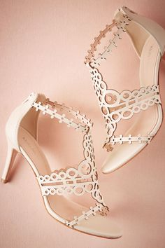 504fca4a973 Graciene Heels from  BHLDN  220.00 Bridal Wedding Shoes