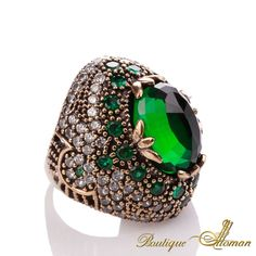 #silver Hareem Exclusive Collection Ring HS-0011  #jewelry #ottoman