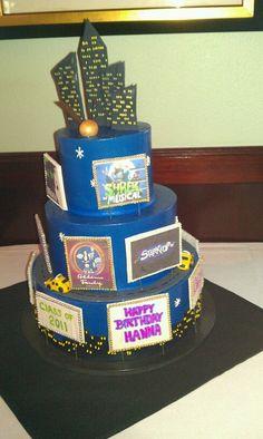 Broadway Cake for my 19th birthday!