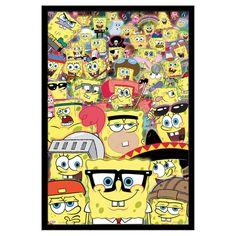 Trends International SpongeBob - Disguise Wall Poster - FR6087BLK22X34