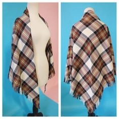 Check out this item in my Etsy shop https://www.etsy.com/listing/491793727/vintage-shawl-poncho-wool-cape-shrug