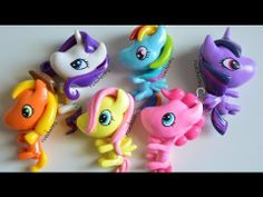 ▶ My Little Pony Polymer Clay Charm Update #30 - YouTube