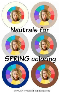 Neutrals are the base of your wardrobe plan. #Spring neutrals #Spring color palette
