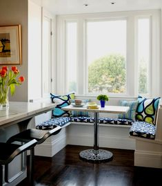 Breakfast Nook Cushions And How To Choose The Best : Breakfast Nook Bench Cushions. breakfast nook cushions diy,kitchen nook with cushions,red breakfast nook cushions Kitchen Banquette, Kitchen Benches, Dining Nook, Kitchen Nook, Kitchen Seating, Kitchen Ideas, Dining Tables, Dining Corner, Kitchen Dining