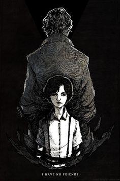 Sherlock - I Have No Friends by feyuca.deviantart.com on @DeviantArt