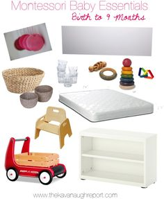 Montessori Baby Essentials -- Birth to 9 Months.