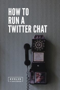Lead a Twitter chat so you can grow your business, increase your expertise and rock the digital world.