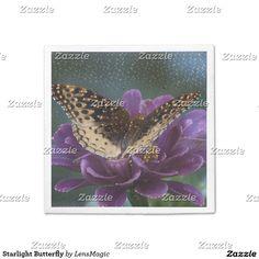 Starlight Butterfly Napkin