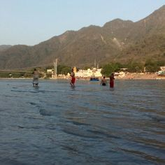 Saits taking holy dip with maa ganges