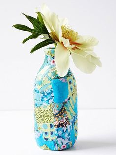 55 ideas of decoupage on the glass and walkthrough-15