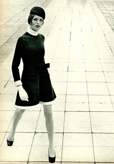 French Elle, February 1968, dress by Patou