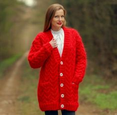 Red Sweaters, Cable Knit Sweaters, Sweater Cardigan, Online Price, V Neck, Knitting, Best Deals, Ebay, Fashion