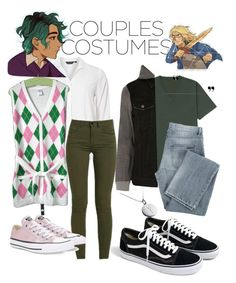 """""""Alex Fierro and Magnus Chase"""" by fandomoutfits64 ❤ liked on Polyvore featuring Dorothy Perkins, Gymboree, Converse, Rune NYC, Uniqlo, River Island, Givenchy and J.Crew"""