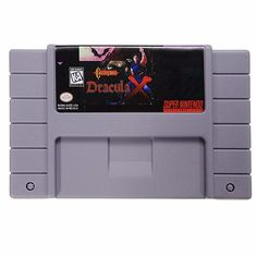 Castlevania Dracula X 16 Bit Game Cartridge Card for SFC SNES NTSC System