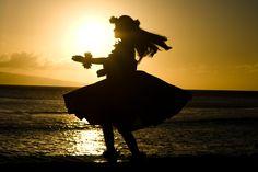 hula hands sunset - Google Search