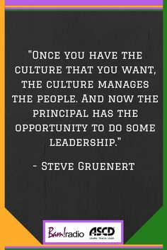 Once you get the culture right, you can really lead. Learn how.