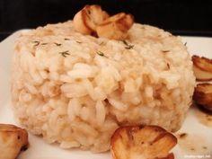 Risotto simples e fácil de cogumelo paris, ótima receita para quem está começando a se aventurar na cozinha!